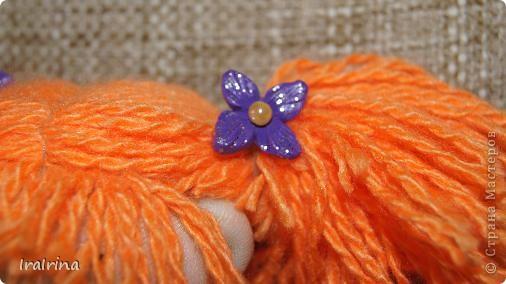 Понравились куклы, вот сшила еще одну по МК НеВероятнаЯ http://stranamasterov.ru/node/123246 фото 3