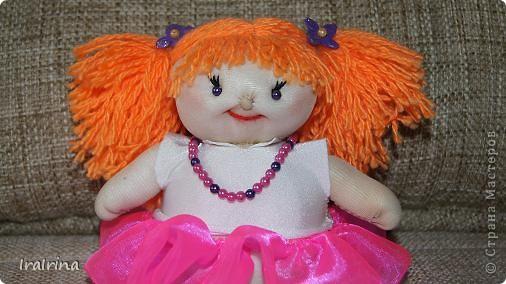 Понравились куклы, вот сшила еще одну по МК НеВероятнаЯ https://stranamasterov.ru/node/123246 фото 2