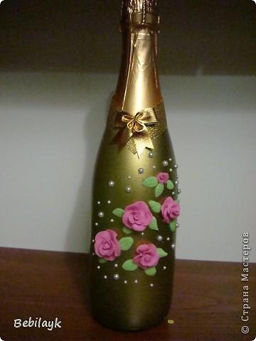 Свадебные бутылочки фото 3