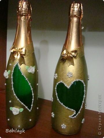 Свадебные бутылочки фото 4
