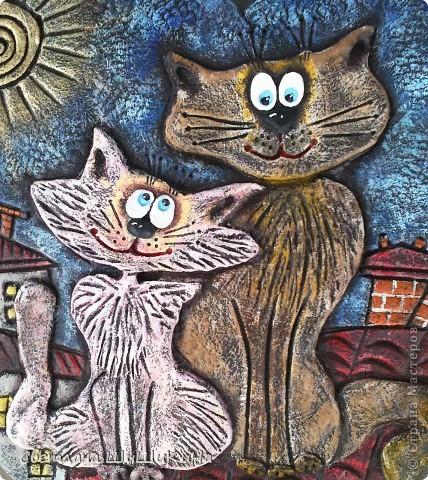 Такая вот получилась сладкая парочка... Вдохновила меня чудесная художница Алиса Майская. Спасибо ей за её творчество!!! фото 2