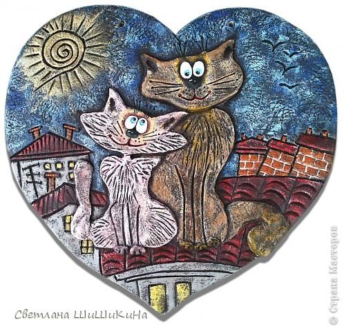 Такая вот получилась сладкая парочка... Вдохновила меня чудесная художница Алиса Майская. Спасибо ей за её творчество!!! фото 1