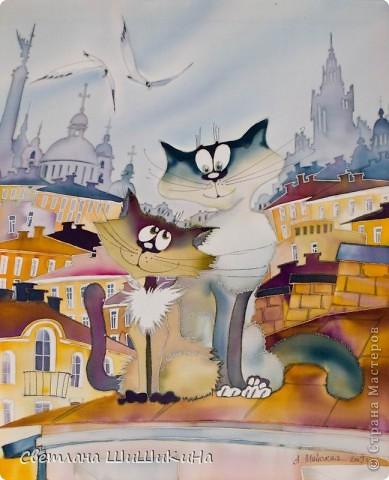 Такая вот получилась сладкая парочка... Вдохновила меня чудесная художница Алиса Майская. Спасибо ей за её творчество!!! фото 4