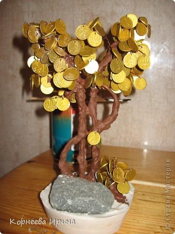 Еще один подарок для родственницы готов. Предлагаю всем мк этого дерева, может кому-то пригодится фото 19