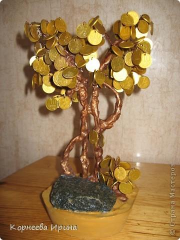 Еще один подарок для родственницы готов. Предлагаю всем мк этого дерева, может кому-то пригодится фото 21