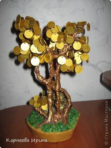 Еще один подарок для родственницы готов. Предлагаю всем мк этого дерева, может кому-то пригодится фото 2