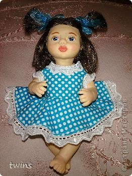 вот наконец-то закончила создание девочки, имя само как-то пришло - Алиса.  фото 9