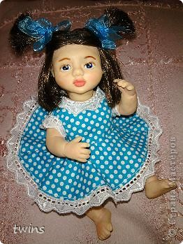вот наконец-то закончила создание девочки, имя само как-то пришло - Алиса.  фото 8