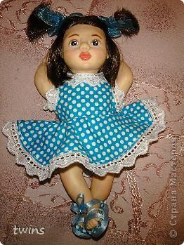 вот наконец-то закончила создание девочки, имя само как-то пришло - Алиса.  фото 18