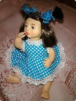 вот наконец-то закончила создание девочки, имя само как-то пришло - Алиса.  фото 7