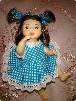 вот наконец-то закончила создание девочки, имя само как-то пришло - Алиса.  фото 10