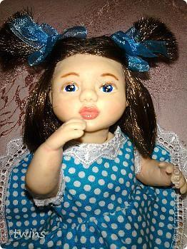 вот наконец-то закончила создание девочки, имя само как-то пришло - Алиса.  фото 20