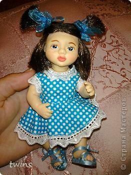 вот наконец-то закончила создание девочки, имя само как-то пришло - Алиса.  фото 19