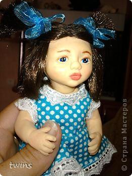 вот наконец-то закончила создание девочки, имя само как-то пришло - Алиса.  фото 12