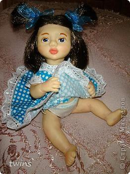 вот наконец-то закончила создание девочки, имя само как-то пришло - Алиса.  фото 11
