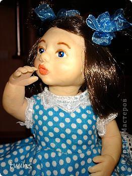 вот наконец-то закончила создание девочки, имя само как-то пришло - Алиса.  фото 21