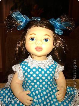 вот наконец-то закончила создание девочки, имя само как-то пришло - Алиса.  фото 22