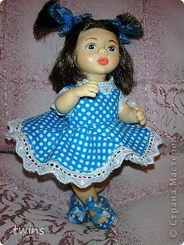 вот наконец-то закончила создание девочки, имя само как-то пришло - Алиса.  фото 14
