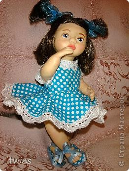 вот наконец-то закончила создание девочки, имя само как-то пришло - Алиса.  фото 15