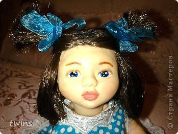вот наконец-то закончила создание девочки, имя само как-то пришло - Алиса.  фото 6