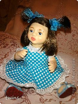 вот наконец-то закончила создание девочки, имя само как-то пришло - Алиса.  фото 16