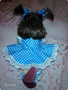 вот наконец-то закончила создание девочки, имя само как-то пришло - Алиса.  фото 17