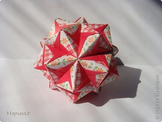 Trimodule by Nick Robinson МК http://www.nickrobinson.info/origami/diagrams/trimodule.htm  фото 4