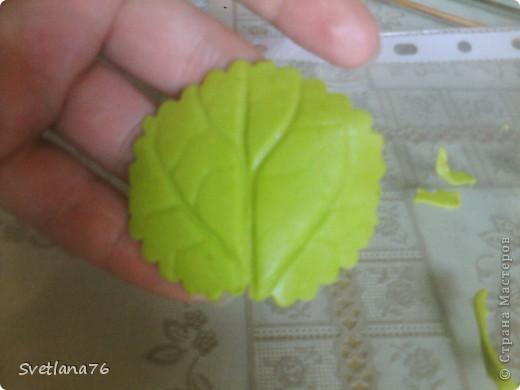 Берем проволоку 13-14 сантиметров (у меня для бисера, другой нет, у нас трудно найти), с одного конца загибаем петелькой. Таких проволочек нужно 28 штук (21 на цветы, 7 на бутоны) На каждый цветок по 3 проволочки.  фото 16