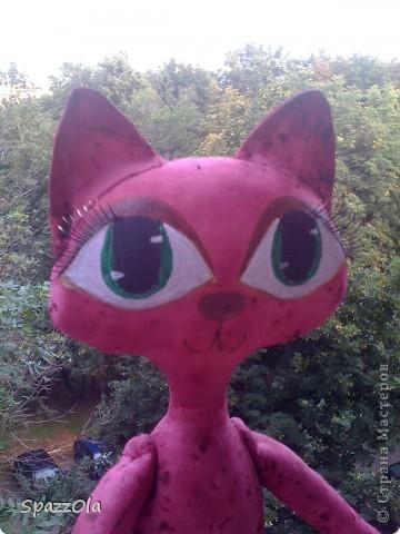 вот такая кошка получилась.платья нет, потому что не определилась с цветом. зовут нас Клементина фото 3