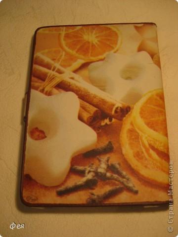 Это - обложка для электронной книги и кошелёк , делала для сестры, салфеточки из которых делать выбирала она сама  , а за салфеточки большое спасибо Ирине  http://stranamasterov.ru/user/48665 фото 2