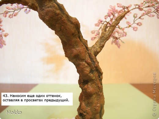 МК Сакура. Часть 5. Покраска и декор. фото 5