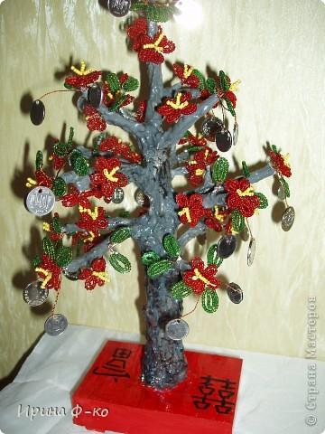 вот такие деревья получились на подарки фото 2