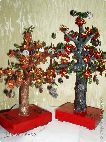 вот такие деревья получились на подарки фото 1