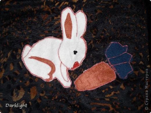 Сшито из шубы. Внутри мех, сверху декоративная ткань, между ними слой ватина.  Крепится к санкам съемными резинками. На одеяльце выполнена аппликация. фото 5