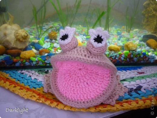 Мягкая игрушка - лягушка