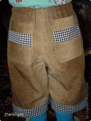 Большие накладные карманы спереди фото 3