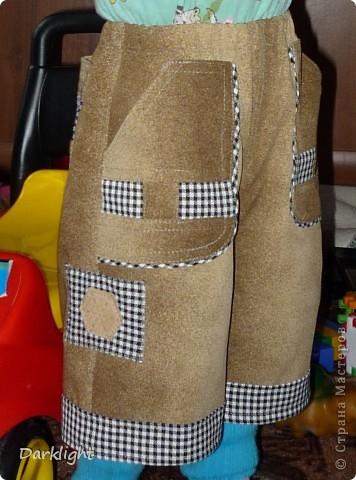 Большие накладные карманы спереди фото 2