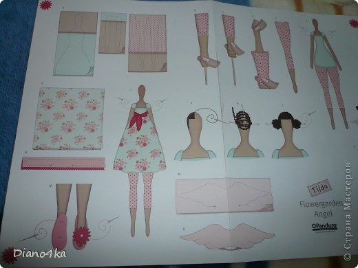 Вот Тильдочка Цветочный Ангел. Заказывали набор из Германии.Вот сайт этого интернет-магазина http://www.sew-shop.com В набор там входит все для пошива это тильды.На сайте есть много всего ВСЕМ СОВЕТУЮ!!!! фото 4