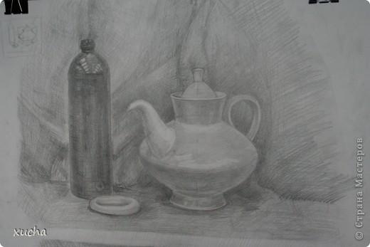 Первый рисунок акварелью фото 2