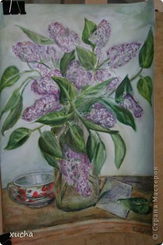 Первый рисунок акварелью фото 5