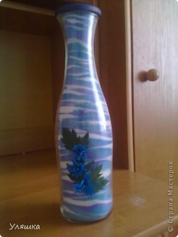 Вот такая бутылочка получилась у меня)) фото 3