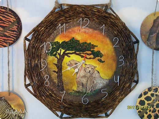 Эти часы для сына в его комнату. Давно-давно мечтала - и наконец-то...!!!  фото 1
