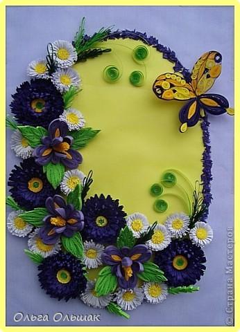 Дорогие мастерицы!На этот раз у меня родилась цветочная композиция   в фиолетово-жёлтых тонах. Наконец -то дождалась солнышка, перефотографировала работу.Это окончательный вариант.   фото 6