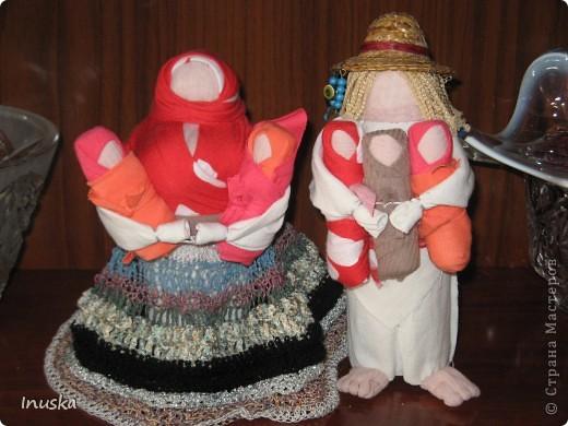 Традиционные куклы. Многодетная семья:)