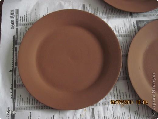 Приветик, всем. кто зашел посмотреть мои тарелочки. Здесь я покажу, как я их делала. Мк-это громко сказано, сама еще учусь. Но тарелки получились именно такими, как я хотела, поэтому покажу весь процесс. Может кому и пригодится. фото 4