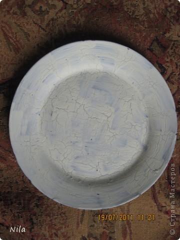 Приветик, всем. кто зашел посмотреть мои тарелочки. Здесь я покажу, как я их делала. Мк-это громко сказано, сама еще учусь. Но тарелки получились именно такими, как я хотела, поэтому покажу весь процесс. Может кому и пригодится. фото 10