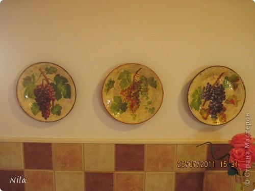 Приветик, всем. кто зашел посмотреть мои тарелочки. Здесь я покажу, как я их делала. Мк-это громко сказано, сама еще учусь. Но тарелки получились именно такими, как я хотела, поэтому покажу весь процесс. Может кому и пригодится. фото 22