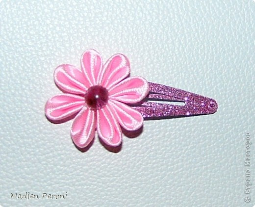 Розовая заколочка для Юлечки