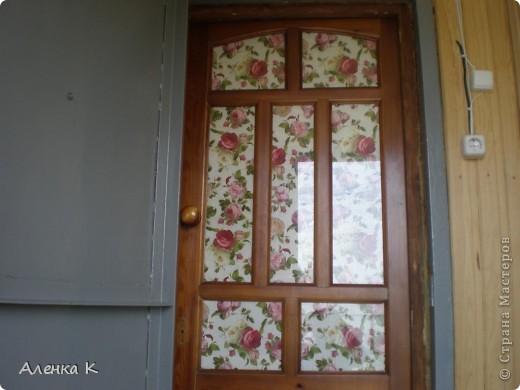 """Уж очень я люблю свою дачку - баньку! Все не могу остановиться - украшаю и украшаю... Это железная дверь """"Котики"""". фото 4"""