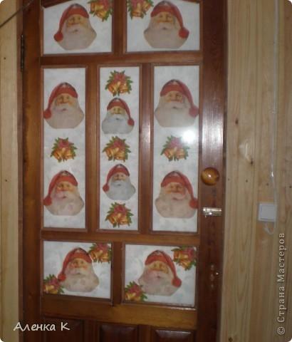 """Уж очень я люблю свою дачку - баньку! Все не могу остановиться - украшаю и украшаю... Это железная дверь """"Котики"""". фото 5"""